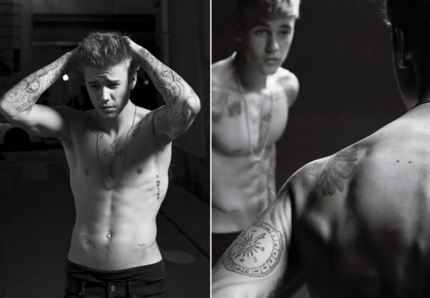 Pogledajte Justina Biebera ispred objektiva Karla Lagerfelda