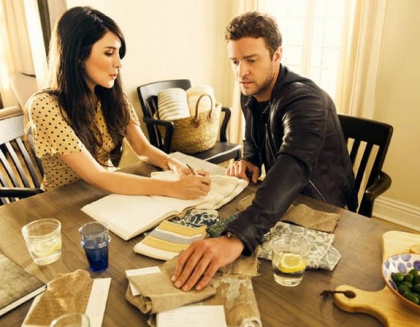 Justin Timberlake/Elle Decor