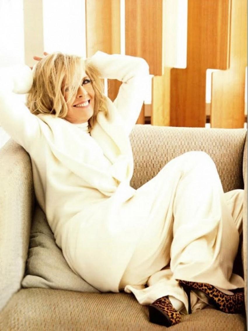 Diane Keaton/Elle