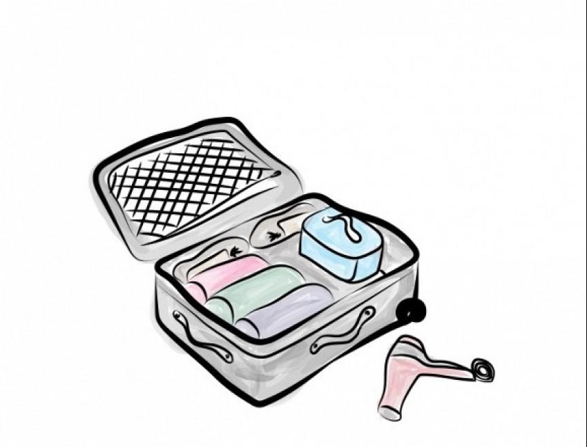 3. korak: pravilan redoslijed pakiranja