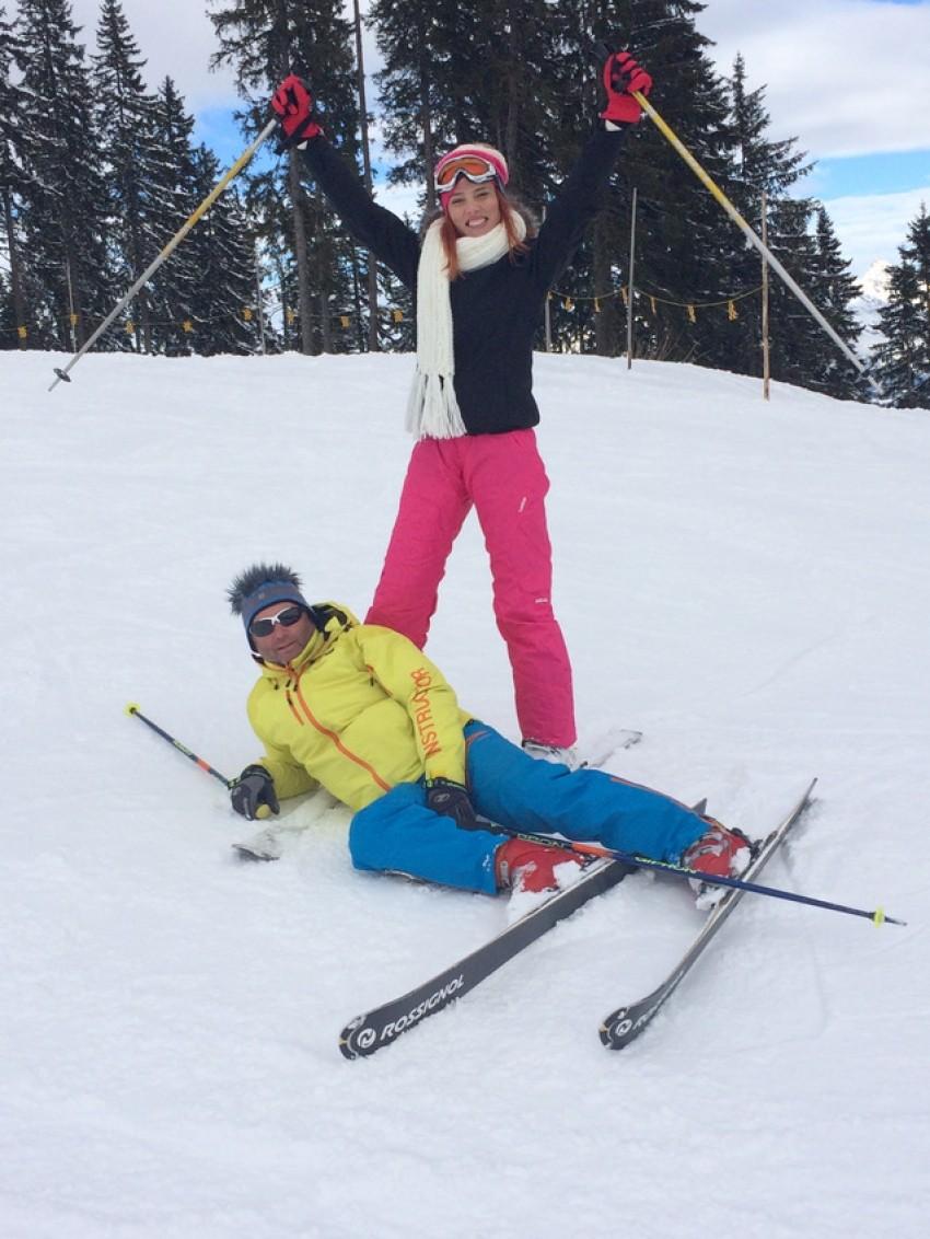 Valerija Đurđević na skijanju u Austriji