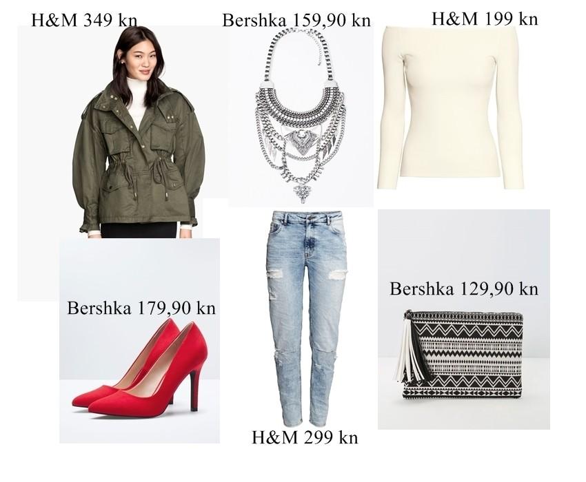Valentinovski spoj: Predlažemo 3 cool outfita s aktualnom high street odjećom
