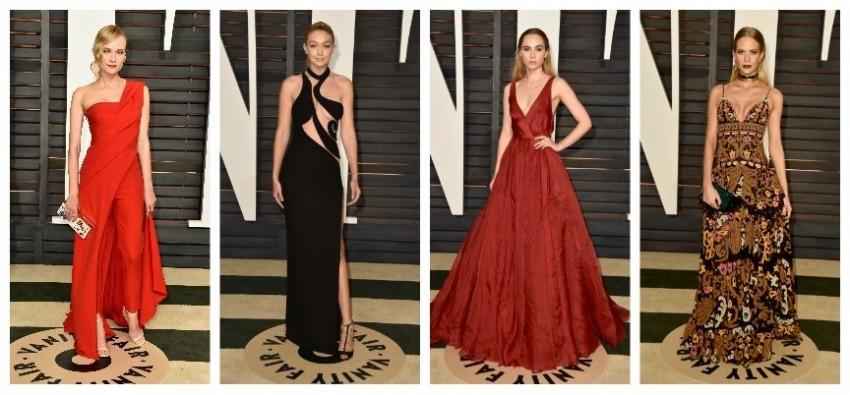Diane Kruger, Gigi Hadid, Suki Waterhouse, Poppy Delvingne
