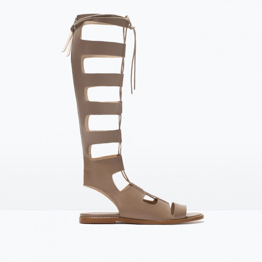 Zara Leather roman sandals (799.90 HRK)