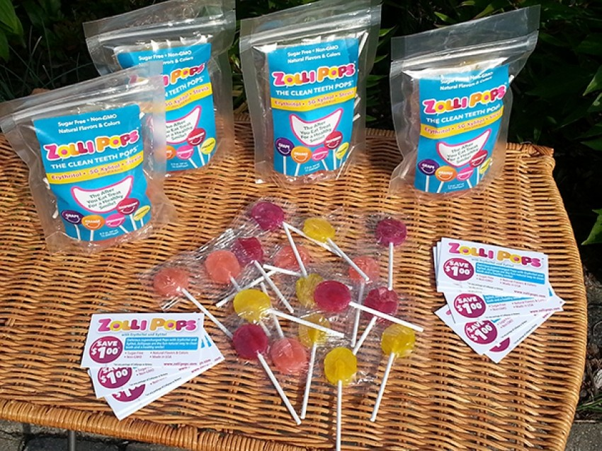 Zollipops su prve zdrave lizalice na tržištu
