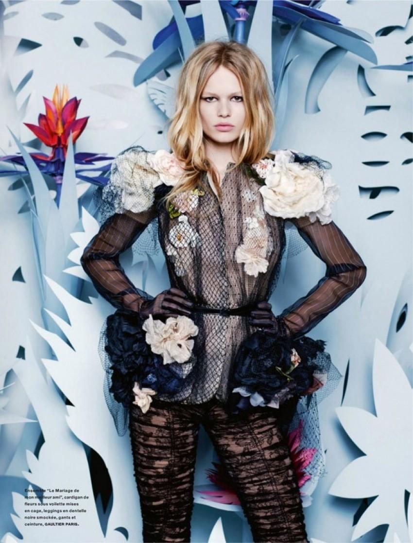 Karl Lagerfeld ima novi proljetni editorijal - i savršen je
