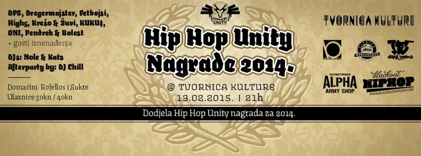 Hip Hop Unity dodjela nagrada