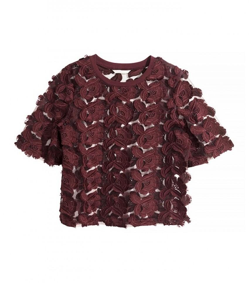 H&M Lace Top ($50)