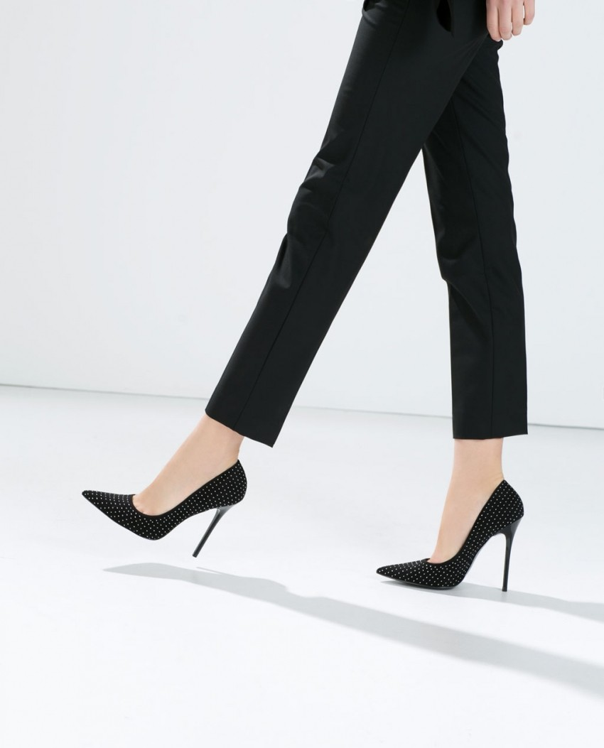 Zara Micro studded court shoe (399.90 HRK)