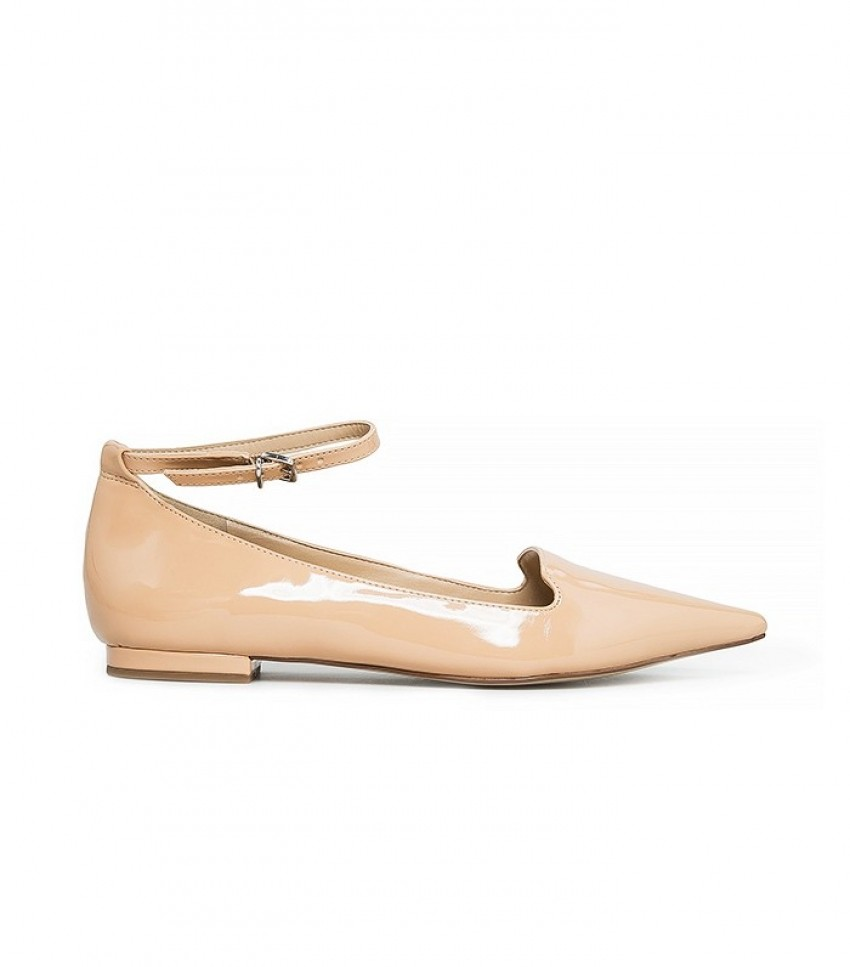Mango Ankle-Cuff Pointed Toe Shoes ($33)