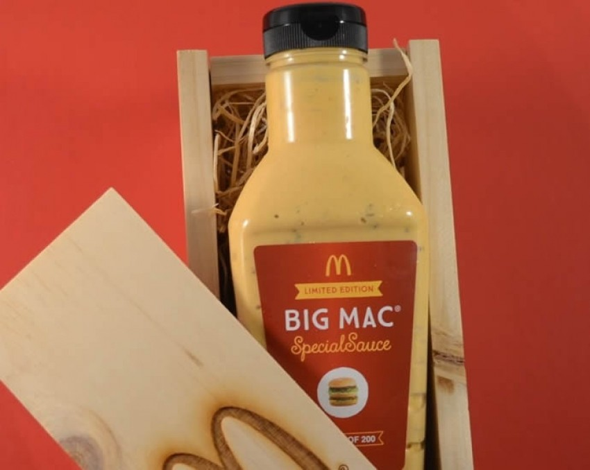 """McDonaldsov specijalni """"Big Mac"""" umak prodavat će se za 18.000 dolara"""