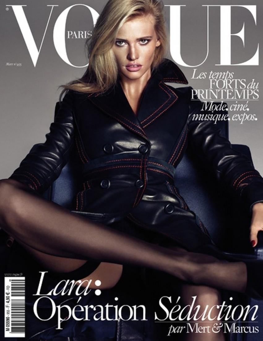 Seksipilni Vogue: Lara, Kate i Daria kao neodoljive zavodnice