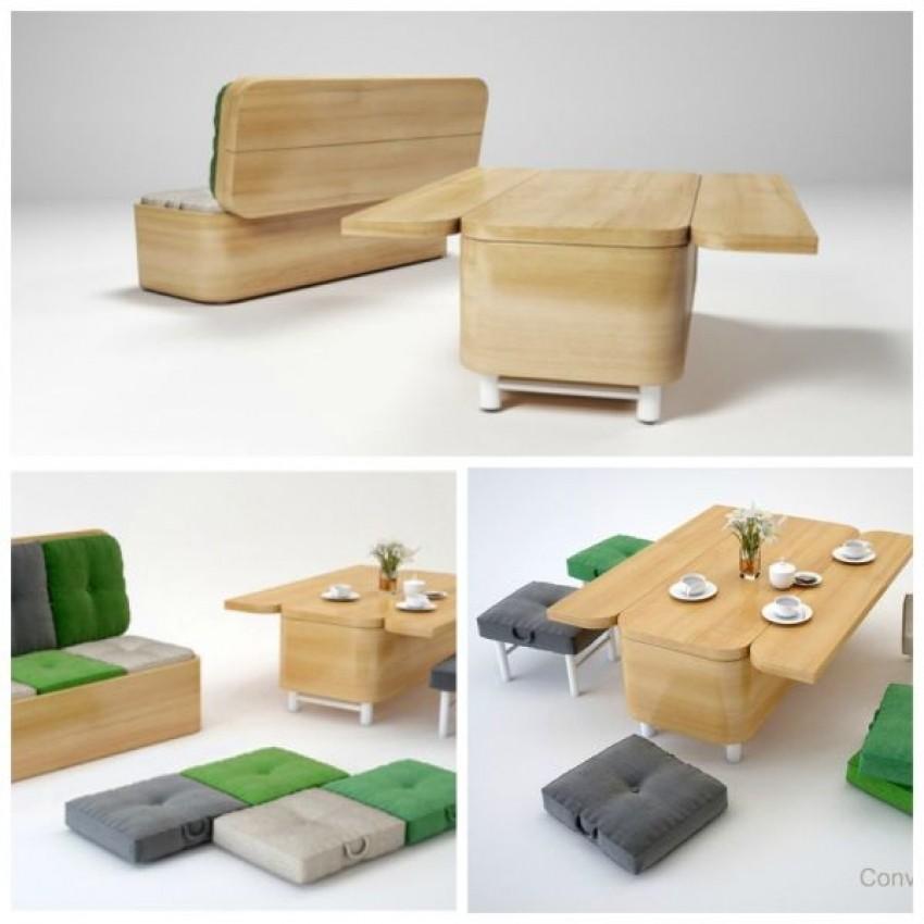 Kauč koji se pretvara u stol (Julia Kononenko)
