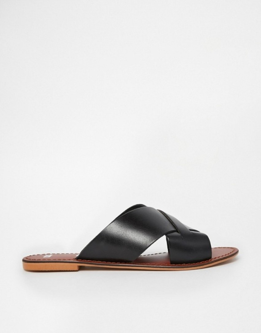 ASOS Flick Leather Slides ($36)