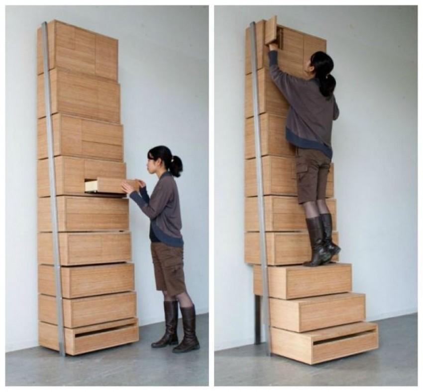 Ladice sa stepenicama (Danny Kuo)