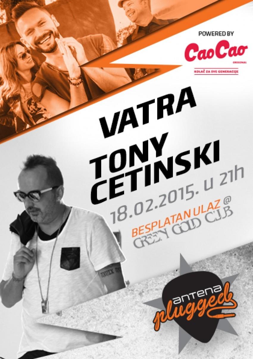 ANTENAPLUGGED - Vatra i Tony Cetinski