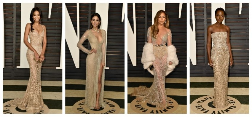 Chanel Imam, Eiza Gonzales, Jennifer Lopez, Lupita Nyong'o
