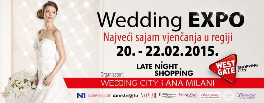 Wedding Expo Sajam vjenčanja 20.02.2015 - 22.02.2015