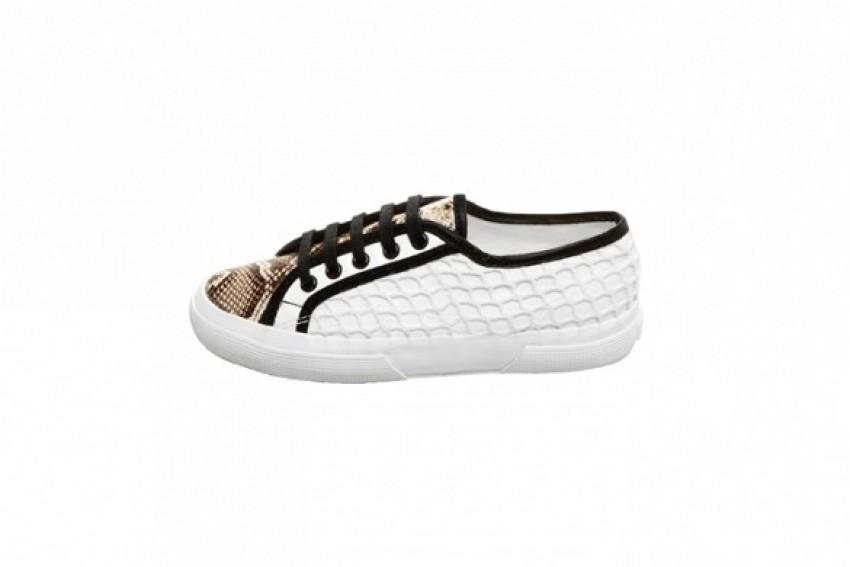 Rodarte Superga Flat Lace Up Sneakers ($239)