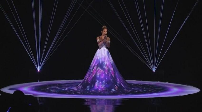 Izvedba J.Lo na Američkom Idolu
