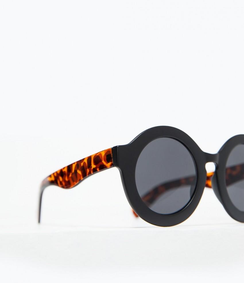 Zara Round Sunglasses Faux Tortoiseshell Arms 149.90 HRK