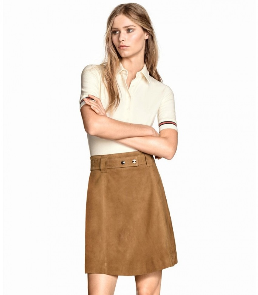 H&M Suede Skirt ($129)
