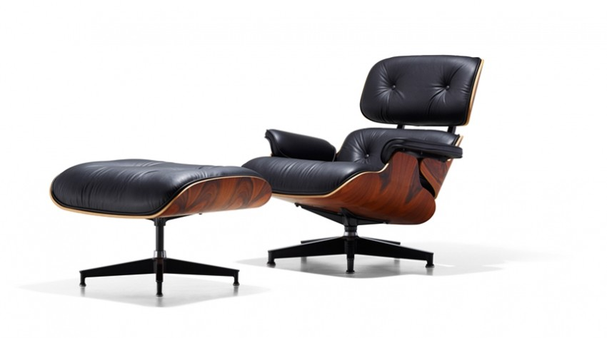Lounge and Ottoman - Charles Eames