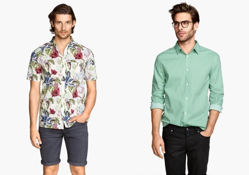 5 H&M košulja s printom za muškarce sa stilom