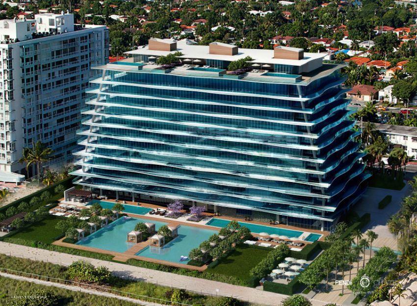 U Miamiju odsjednite u savršenom Fendi penthouseu