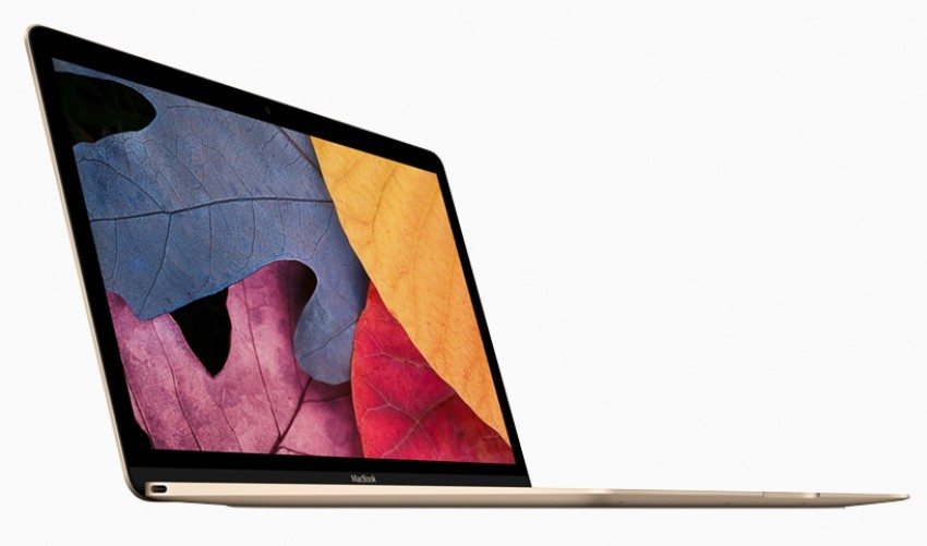 Super slim Apple MacBook