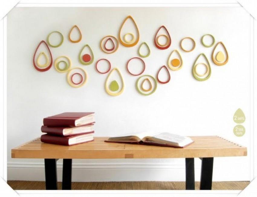 DIY ideje za uređenje praznog zida