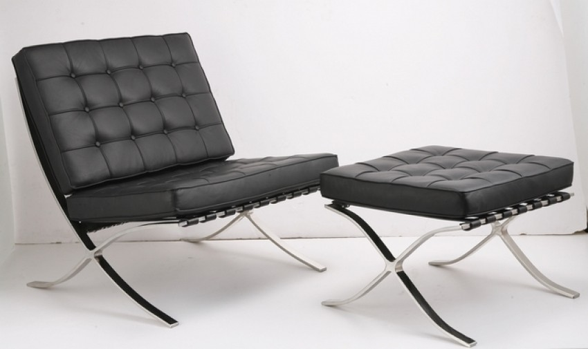 Barcelona chair- Ludwig Mies van der Rohe i Lilly Reich