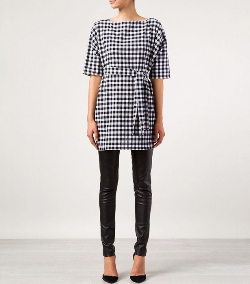 Chloé Gingham Check Tunic ($1,000)