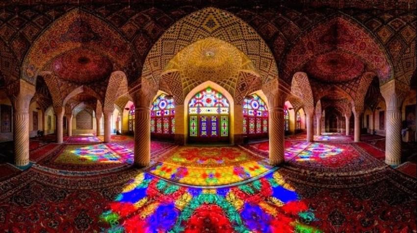 Nasir al Molk Mosque, Shiraz, Iran