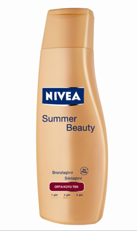 Nivea Summer Touch Firming Gradual Tan Body Moisturizer