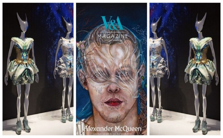 Alexander McQueen: Savage Beauty in London in spring 2015.