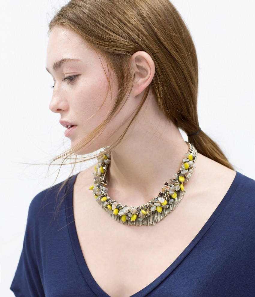 Zara Colored bead necklace  229.90 HRK