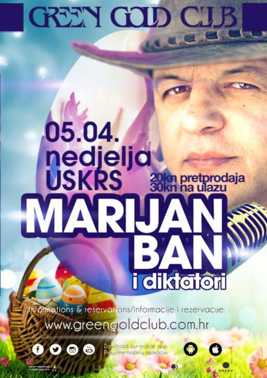 MARIJAN BAN I DIKTATORI - koncert