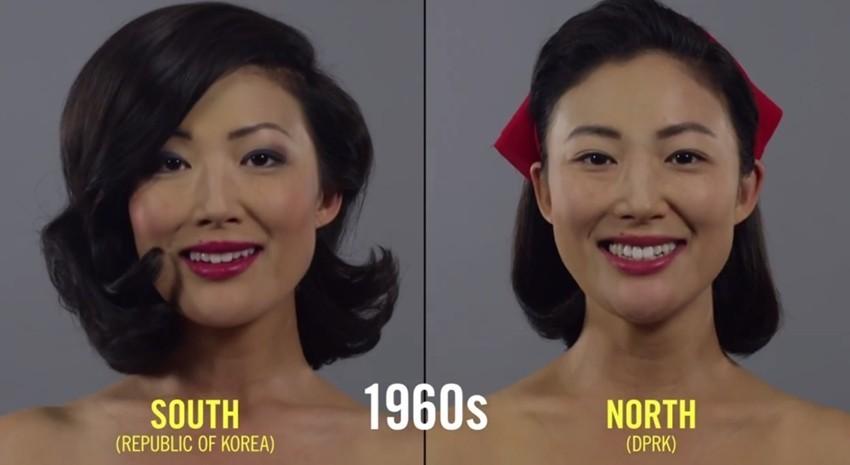 100 godina u minuti: Kako se šminka Sjeverna, a kako Južna Koreja?