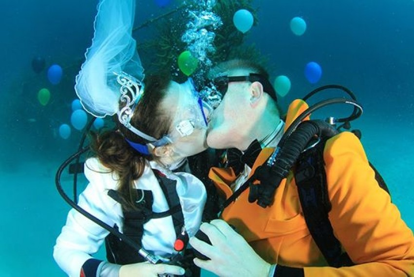 Vjenčanje pod vodom