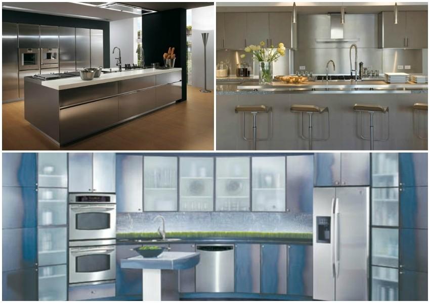 Elementi od nehrđajučeg čelika idealni su za kuhinje