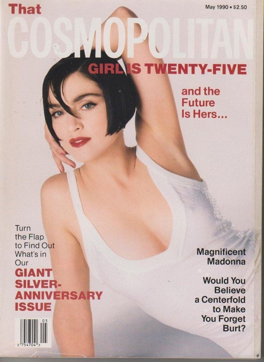 Madonna na naslovnici Cosma 1990. godine