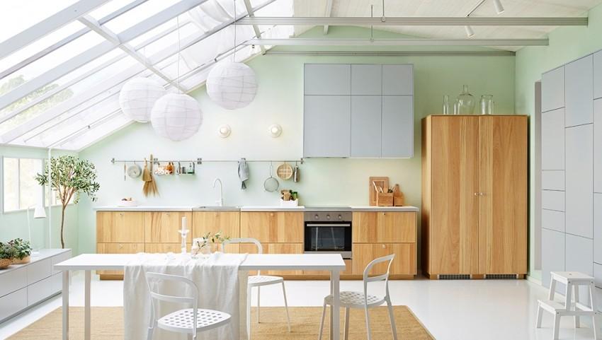 Kuhinja koja glumi da je dnevna soba