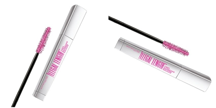 Maybelline New York Illegal Length Fiber Extensions Waterproof Mascara
