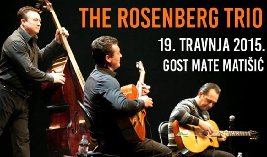 The Rosenberg Trio - Gypsy Jazz 20:00h @ Koncertna dvorana Vatroslava Lisinskog