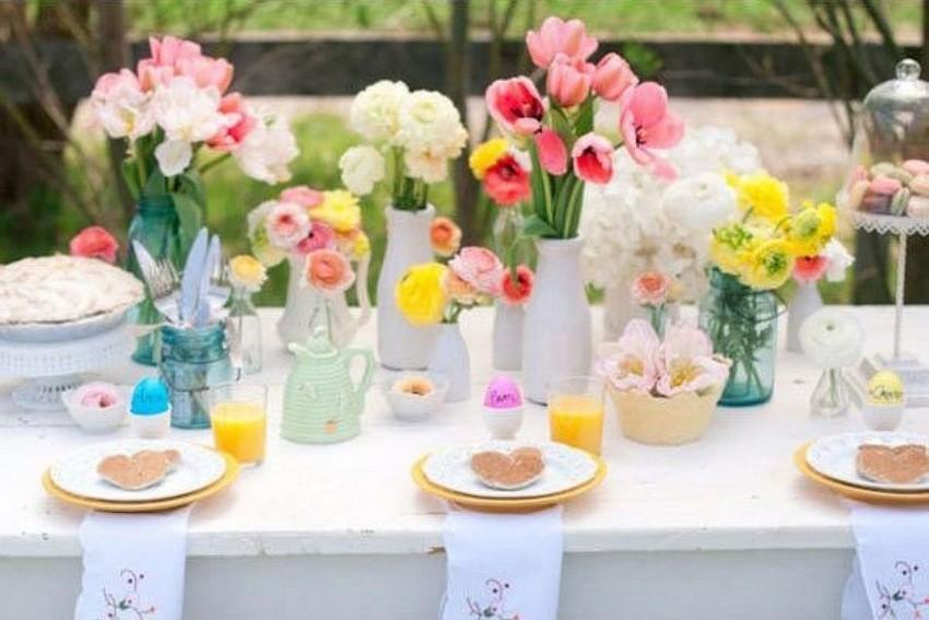 Kako dekorirati stol za uskrs - Decorazioni per la tavola ...