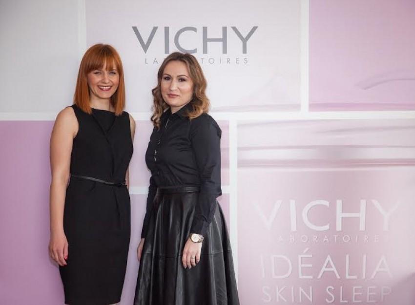 Vedrana Rubil i Ivana Šušnja za predstavljaju inovacije iz Vichyja