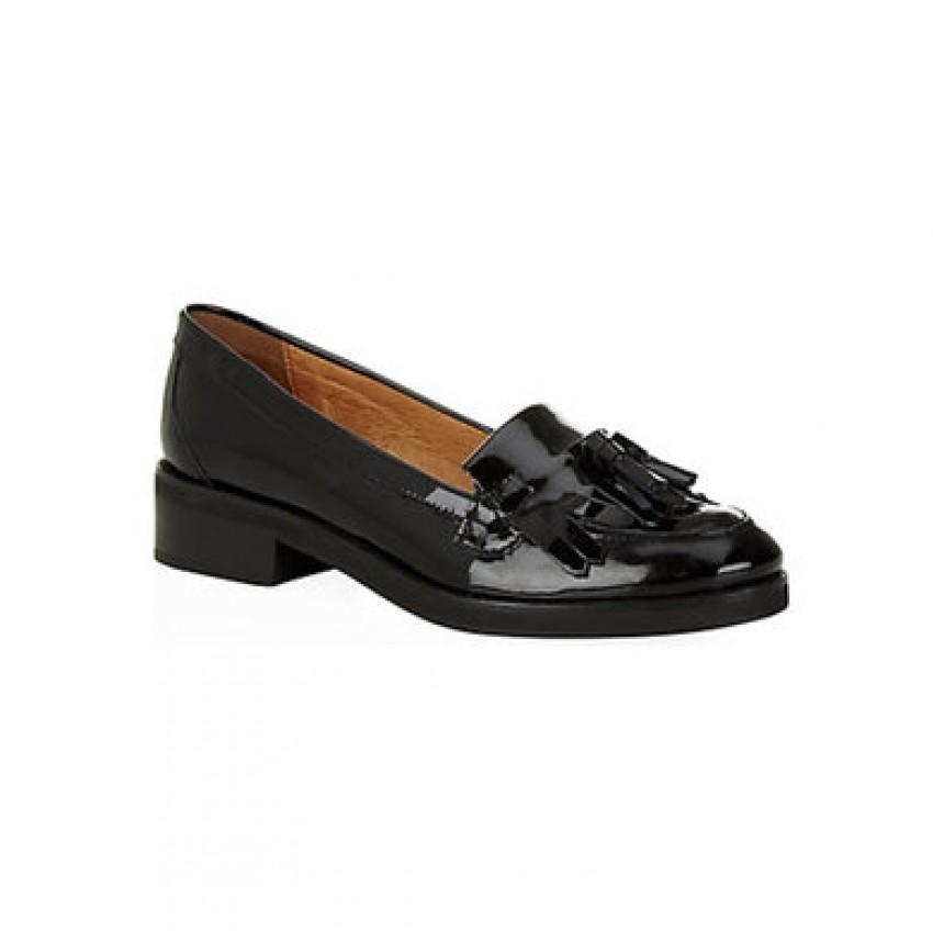KG Kurt Geiger Lawson patent loafer, $135