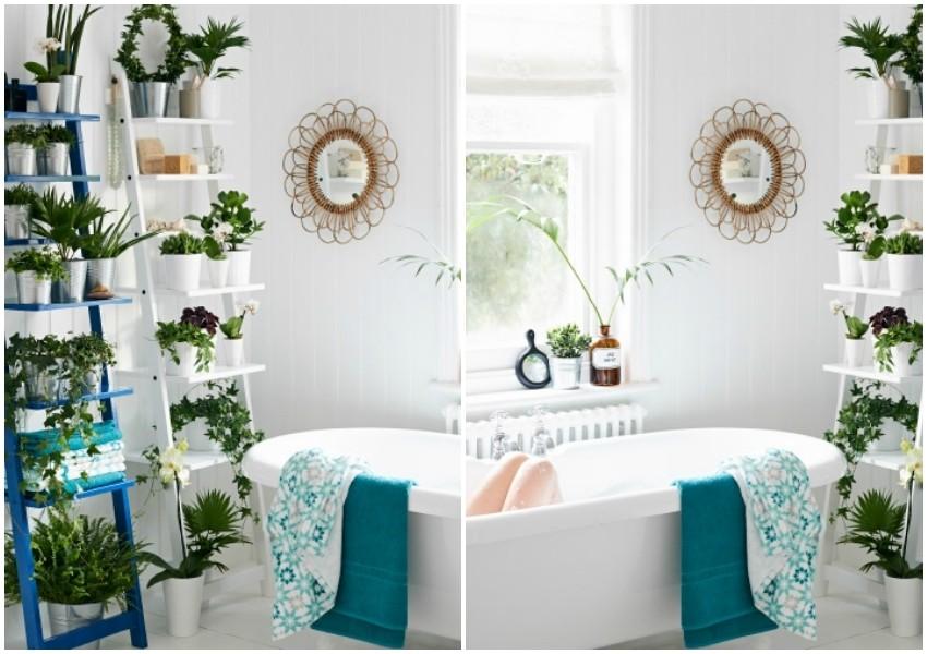 Stvorite vrt u kupaonici