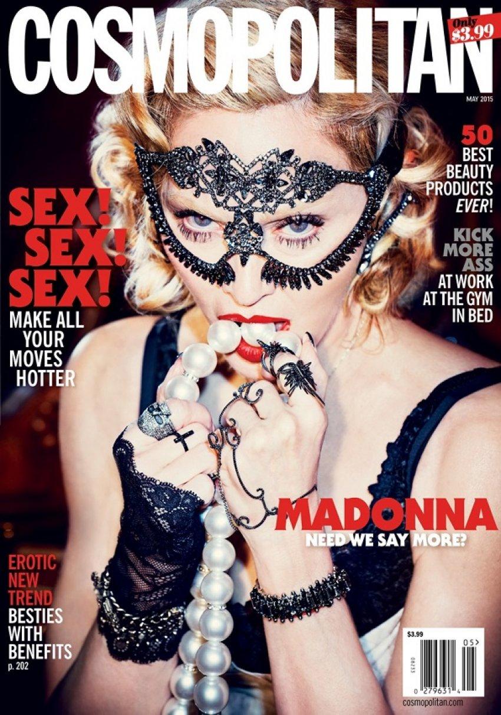 Madonna na naslovnici jubilarnog 50. izdanja Cosmopolitana
